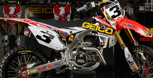 new crf 450 09 12 crf 250 r 10 13 d cor visuals team geico graphics sticker kit. Black Bedroom Furniture Sets. Home Design Ideas