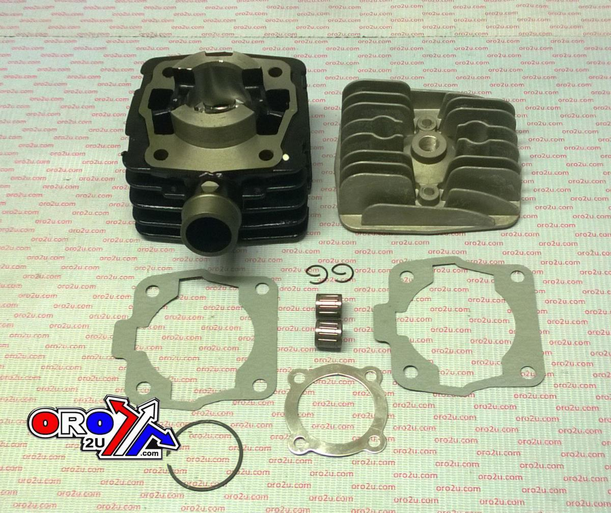 New 50SX 50 SX AIR COOLED ENGINE CYLINDER KIT Block Head Piston Kit Rings  Gasket