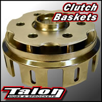 New Billet Clutch Basket Talon CR 125 00-07 CRF 250 R 04-09