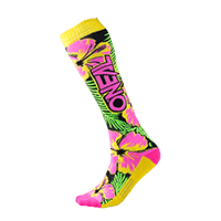 O`Neal Pro MX Sock ISLAND pink/green/yellow (One Size)