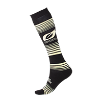 O`Neal Pro MX Sock STRIPES black/yellow (One Size)