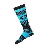 O`Neal Pro MX Sock STRIPES teal/black (One Size)